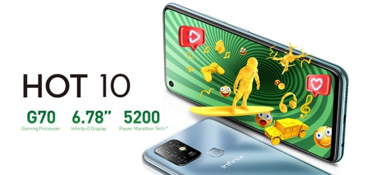Infinix Hot 10 with Helio G70 Exclusively Available via Daraz!
