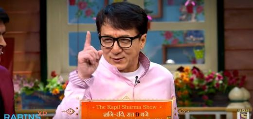 Jackie Chan in The Kapil Sharma Show
