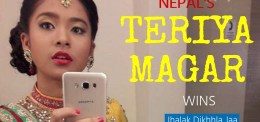 Teriya Magar, Nepalese dancer wins the 9th Jhalak Dikhhla Jaa (Indian Dancing TV Show)