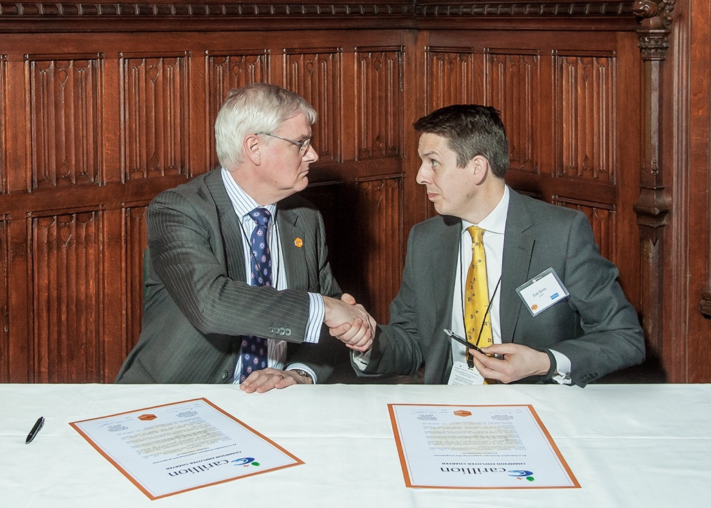 Engtech and Carillion agreement at Parliament