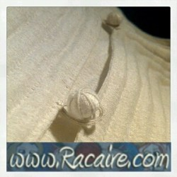 2015-11 - Racaire - 12th century white silk underdress - 12th century underdress - hand-sewing - silk - SCA