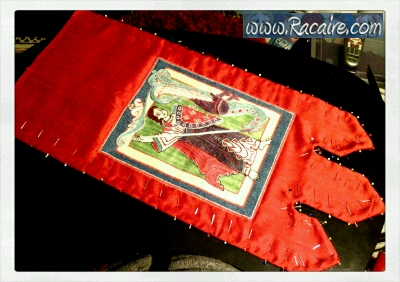 2016-05_Racaire_12th-century-wallhanging_michael-and-the-dragon_07