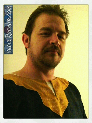 2015-02 - Racaire - 12th century overtunic for 12th century wedding clothing project