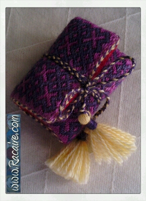 Craft with Racaire - Project 1 - Needle-roll 1 - fast and easy tassels