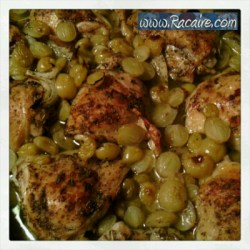 My favorite recipes - Roast Chicken with Grapes