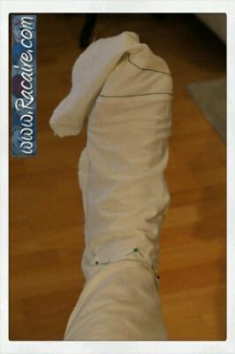 making stocking pattern 4