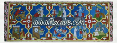 Racaire - Klosterstich - medieval embroidery