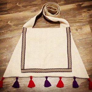 14th century trapezoidal bag