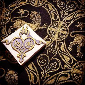 12th century inspired Lion pattern
