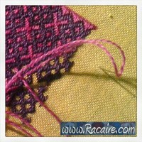 Craft with Racaire - Needle-roll #1 & German Brick Stitch Pattern #2