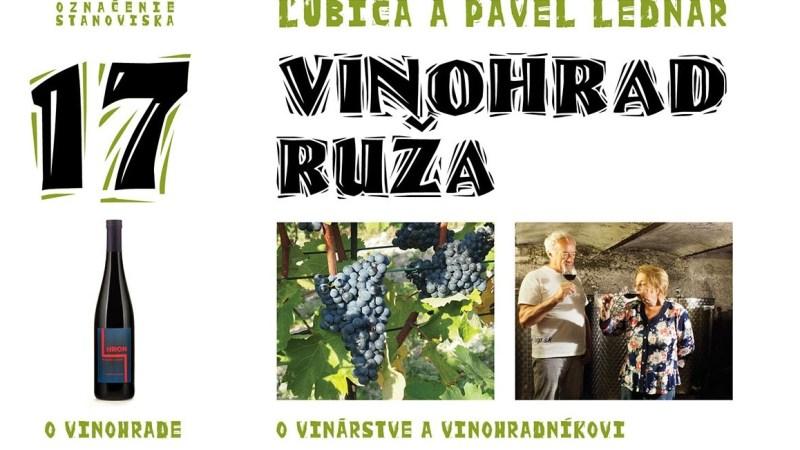 18 Vinohrad Ruža / Ľubica a Pavel Lednárovci
