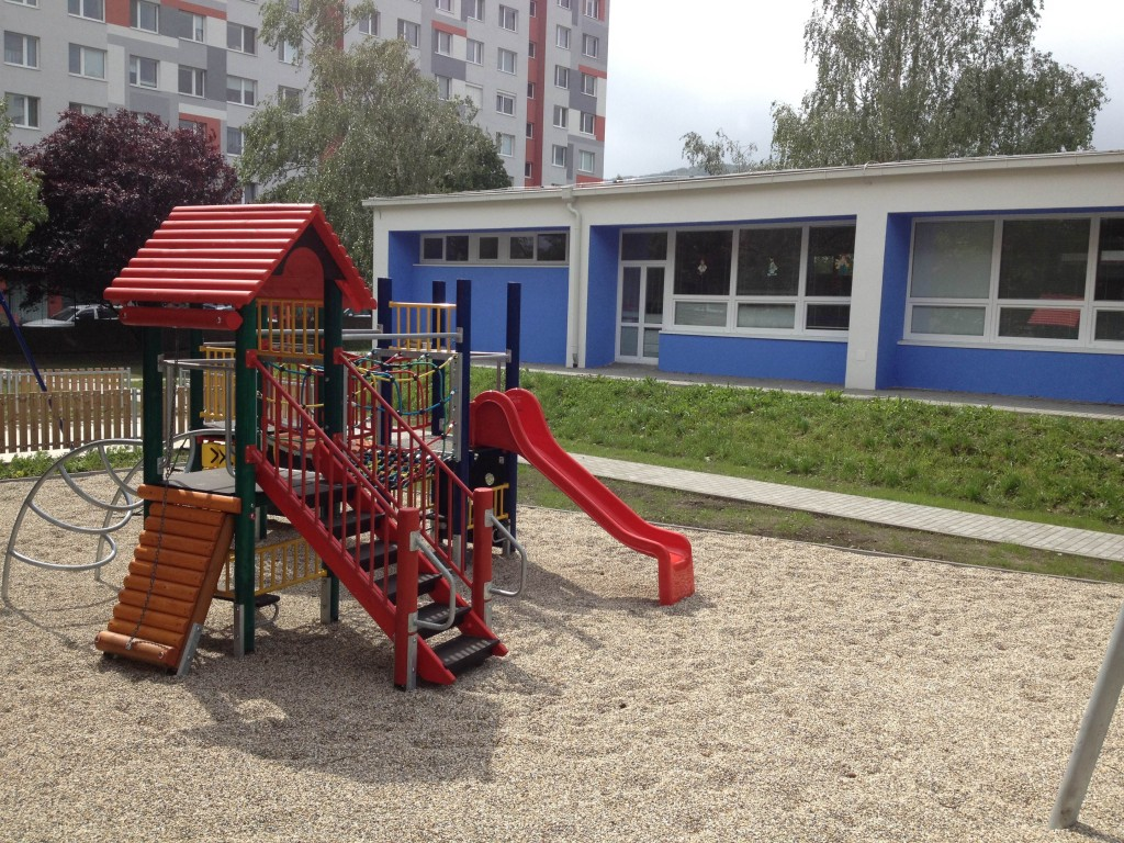 Obnovená Materská škola na Plickovej ulici