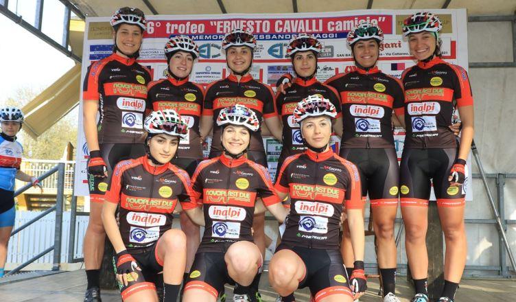 Le juniores e le élite del Racconigi a San Bassano