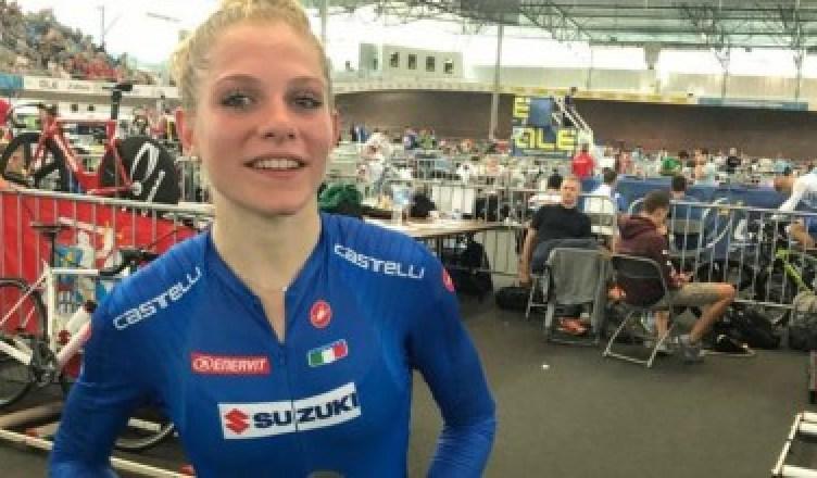 Matilde Vitillo Mondiale corsa a punti