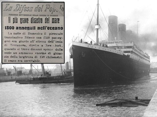 La storia del Titanic mai raccontata così