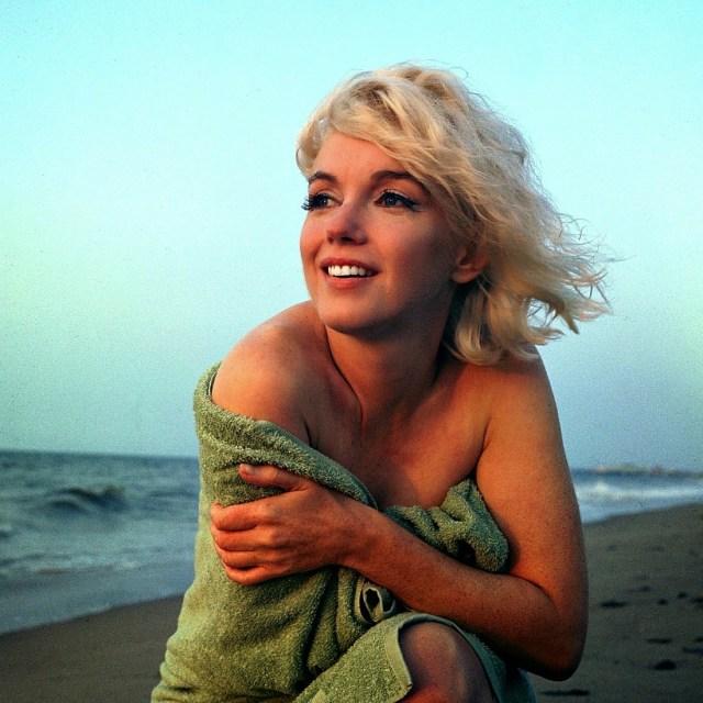 Marilyn Monroe: la bocca che brucia