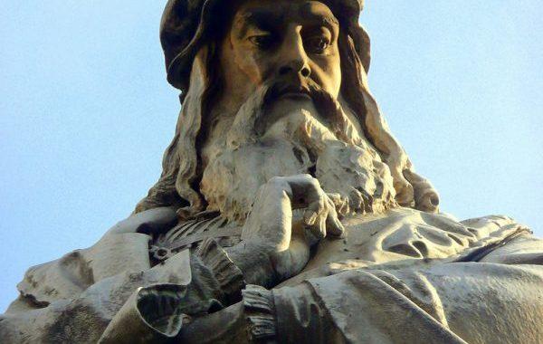 Leonardo Da Vinci va in Francia