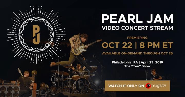 Concerto dei Pearl Jam in streaming prima delle elezioni Usa