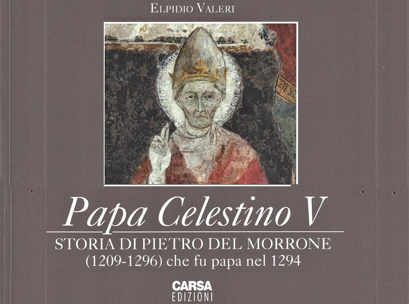 Nuovo libro di Elpidio Valeri su Celestino V