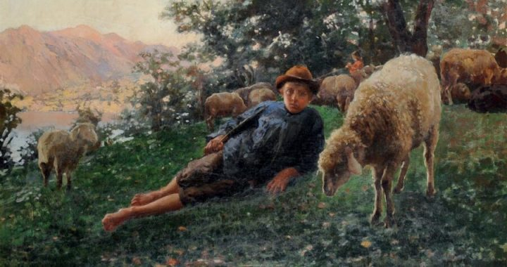 Il giovane pastore e la notte di Natale