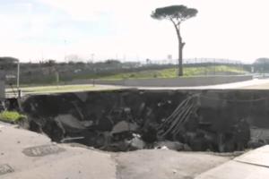 Napoli: Ospedale del Mare – Voragine di 20 metri