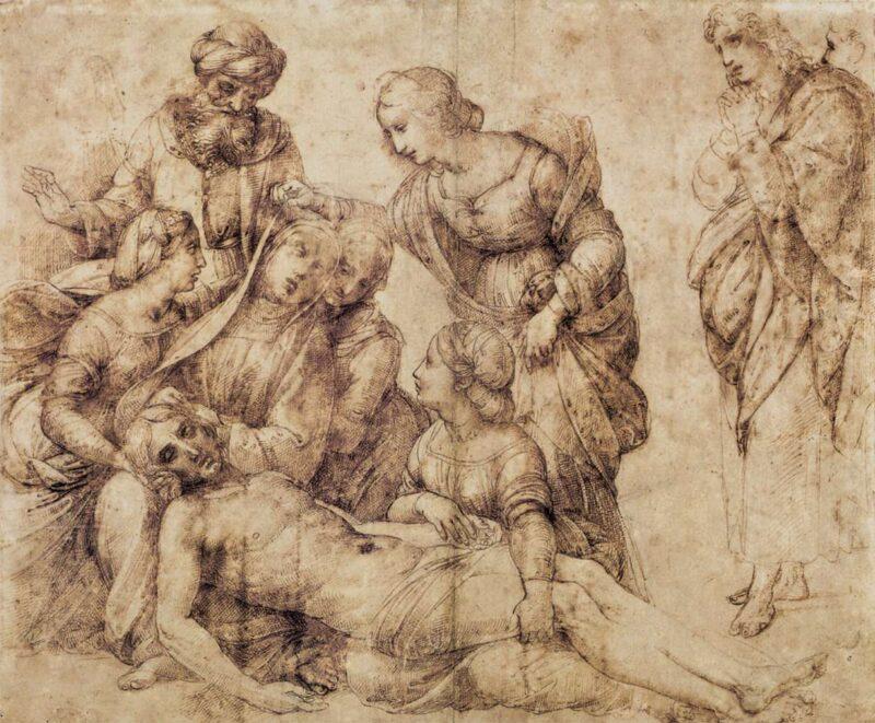 Raffaello e il disegno