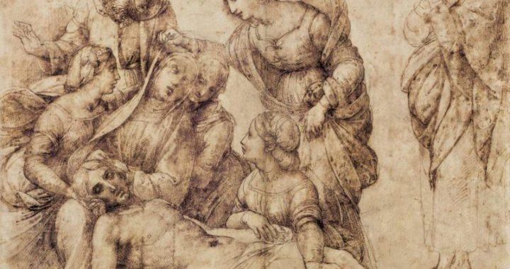 """Raffaello e il disegno: la storia del """"Pittor Divino"""""""