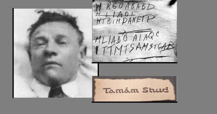 Il caso irrisolto di Tamám Shud
