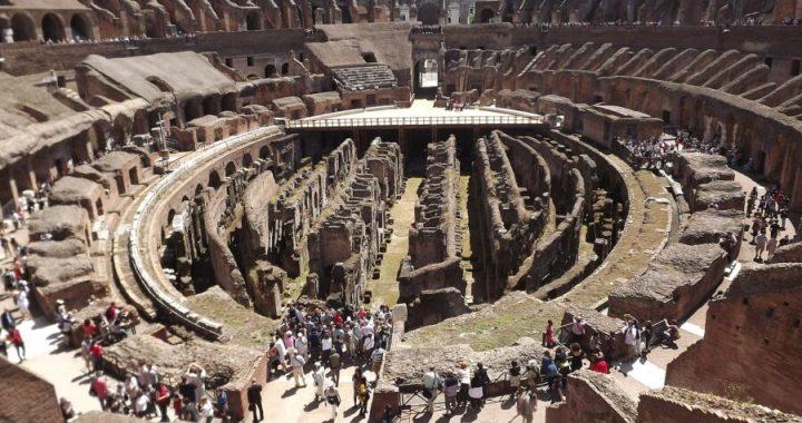Arena dei gladiatori portata alla luce in Turchia