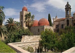 Palermo: Palazzo Reale E Chiesa Di San Giovanni Degli Eremiti.jpg