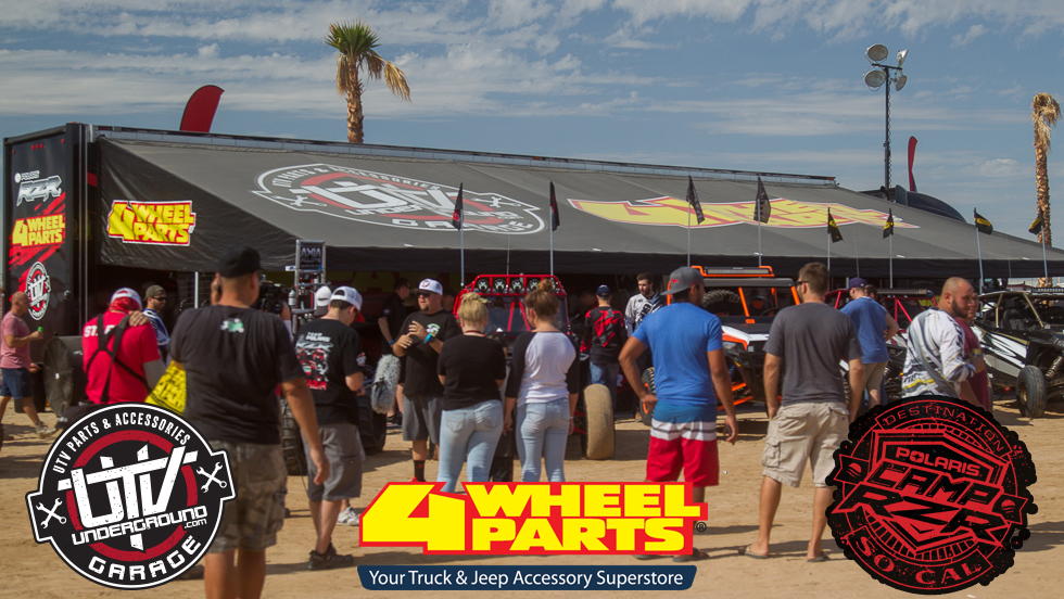 4 Wheel Parts, UTVUnderground Garage Returns To Camp RZR