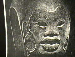 Afro-Olmec child