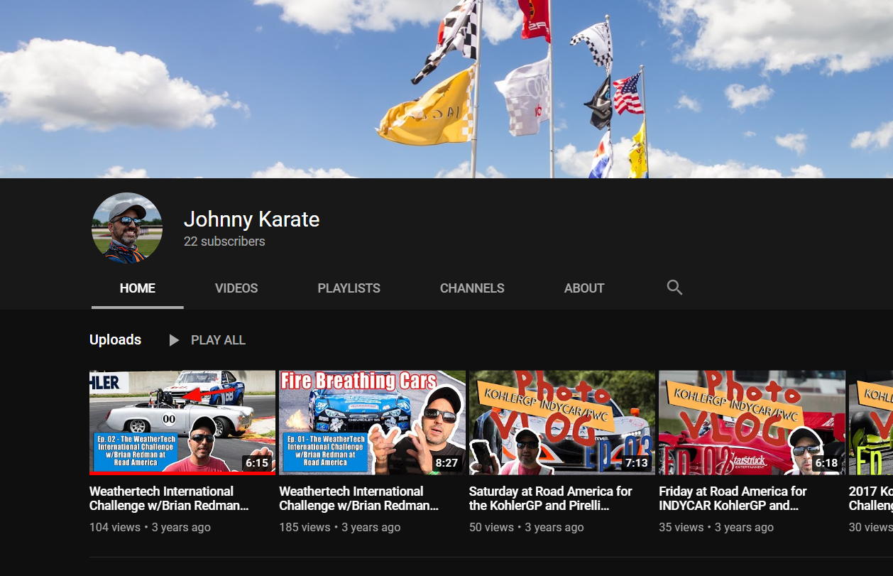 You are currently viewing Might Restart The Road America VLOG on YouTube