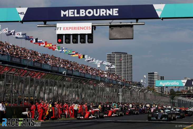 Australian Grand Prix Event Schedule