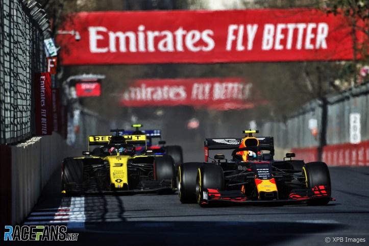 Pierre Gasly, Red Bull, Baku City Circuit, 2019