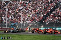 Start, Autodromo Hermanos Rodriguez, 2019