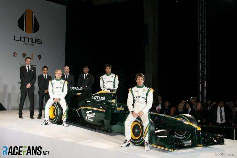 Lotus launch, 2010