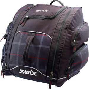 The best ski boot bag from Swix for recreational skiers and ski racers alike - the Tri-Pack boot bag.