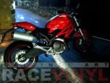 Ducati Monster Standard Stripes with Ducati Logos