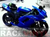 Kawasaki ZX6R Standard Stripes in Blue Reflectant