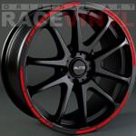 Racevinyl pegatina vinilo Anuncio SPEED coche rojo