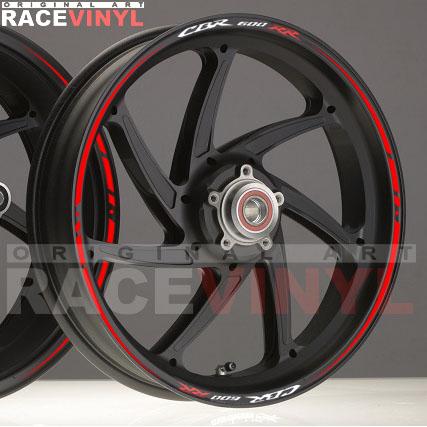 Principal Race Honda CBR 600 RR adhesivo pegatina vinilo llanta rueda moto sticker vinyl rim stripe