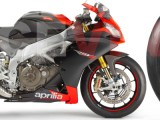 Aprilia RSV 4  - Racevinyl Adhesives Color Catalog.