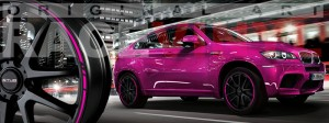 Racevinyl BMW 1 3 5 7 6 8 m3 m5 x5 x3 vinilo vinyl rosa