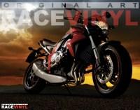 Racevinyl CB 1000 R F N Custom Tuning Pegatina llanta moto adhesivo vinilo sticker stripe rim wheel vinyl race logo