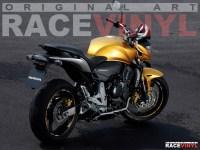 Racevinyl CB 600 900 Hornet 900 F N Custom Tuning Pegatina llanta moto adhesivo vinilo sticker stripe rim wheel vinyl race logo