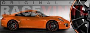 Racevinyl Porsche 911 carrera s cayenne panamera boxter vinilo naranja