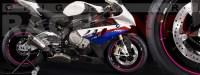 Racevinyl pegatinas llanta moto vinilo sticker rim wheel BMW S1000rr rosa