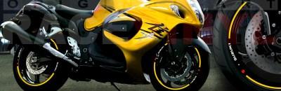 Suzuki Hayabusa generico amarillo