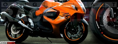 Suzuki Hayabusa generico naranja